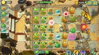 Plants vs Zombies 2 | Ancient Egypt - Day 12,13,14 | Android Gameplay