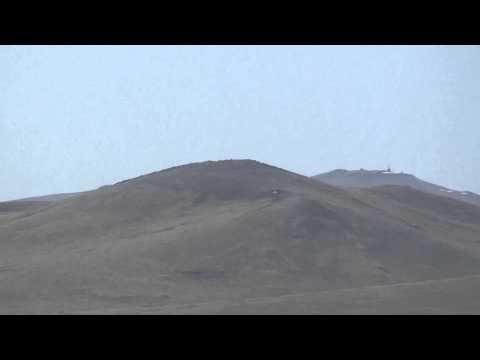 Mongolia.  GE Wind Farm.  Around 70 wind turbines.