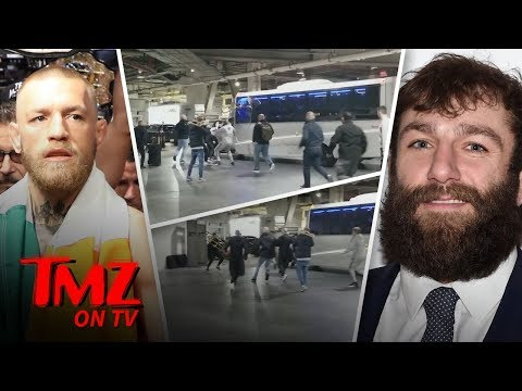 Conor McGregor Loses His Mind At UFC Press Conference!!! | TMZ TV