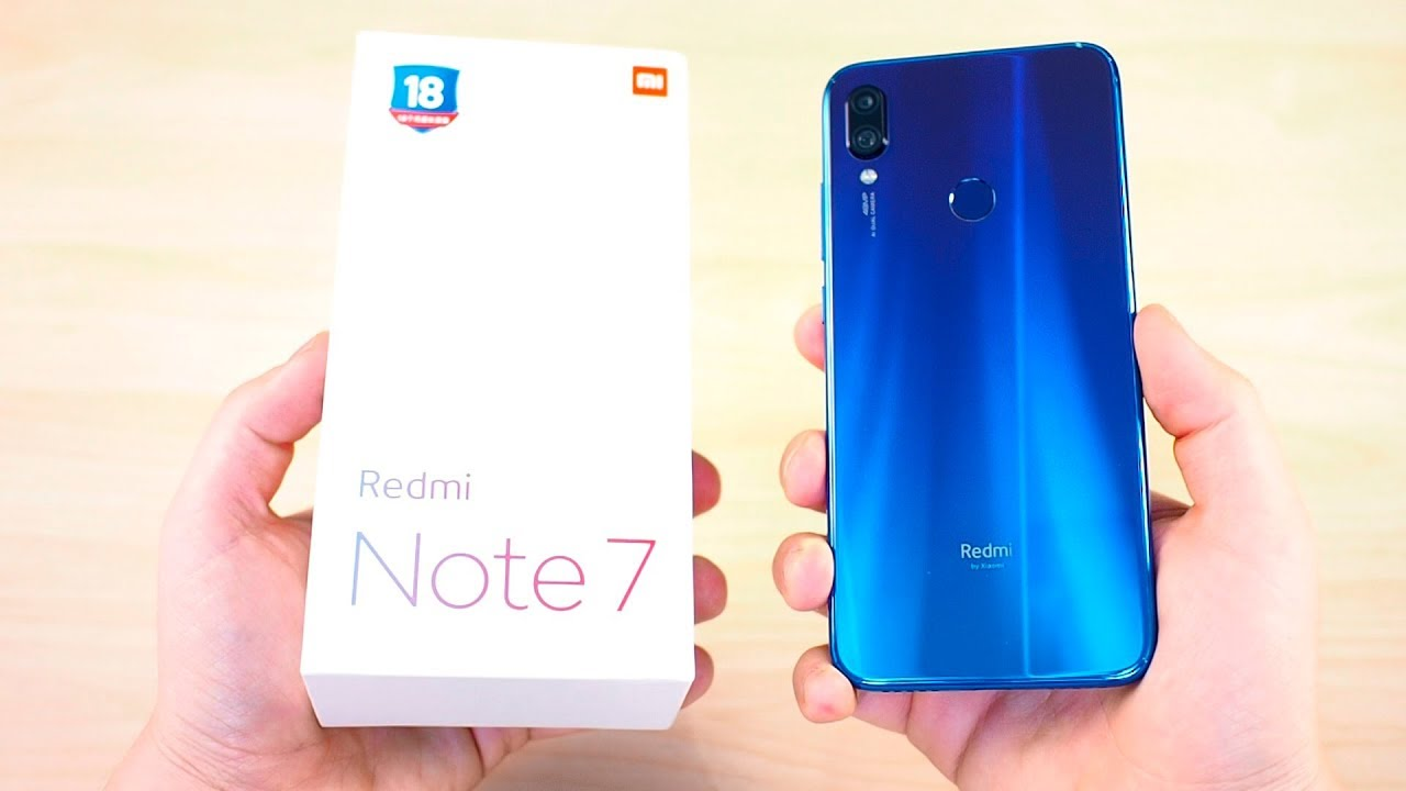 Вот ОН! Xiaomi Redmi Note 7 - ОГОНЬ смартфон 2019 за