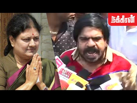 பன்னீரு.. சசிகலா வெண்ணீரு.! T Rajendar Slams Sasikala Over Panneerselvam's Allegation