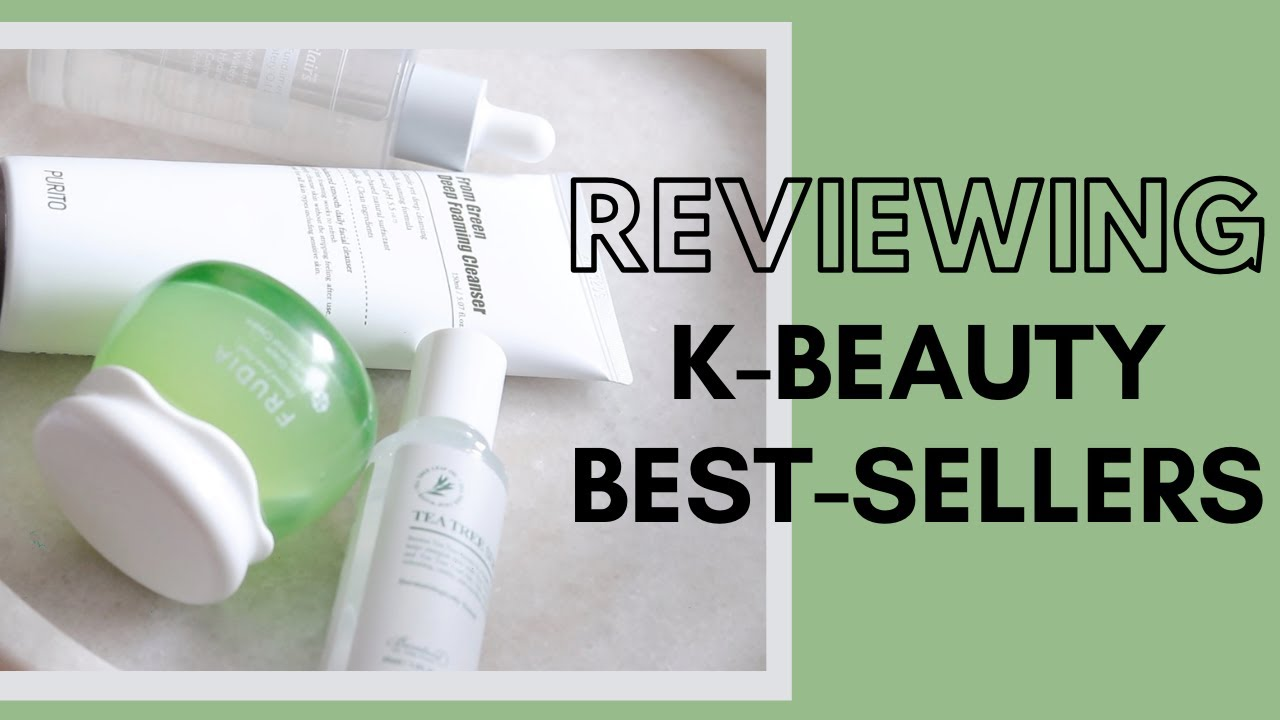 Testing YesStyle K-Beauty Best-Sellers