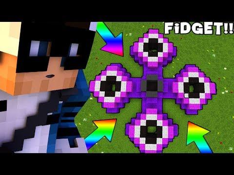COSTRUIAMO UN FIDGET SPINNER NELLE BUILD BATTLE!! Minecraft