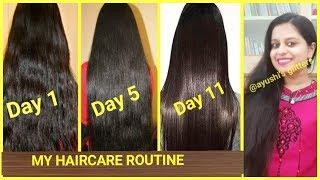 ऐसे करें अपने बालों की देखभाल | Hair Care Routine | Ayushi's Glitters