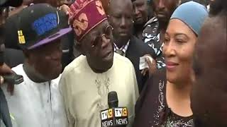 Download Video I consider it as an insult to say there's rancour between me and Ambode - Tinubu MP3 3GP MP4
