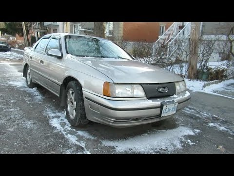 RETRO FORD TAURUS SHO SIGHTING IN MONTREAL - DEC. 2018