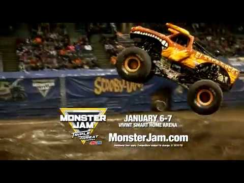 Monster Jam Vivint Smart Home Arena January 6 & 7