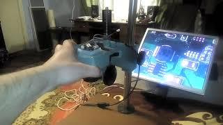 видео Купить USB микроскопы для пайки микросхем