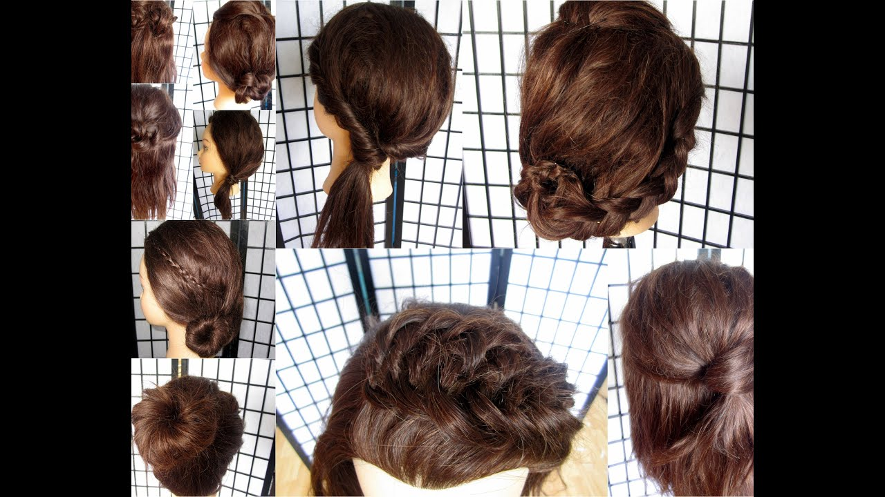10 quick easy back to school hairstyles youtube solutioingenieria Choice Image