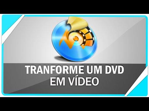 Como transformar um DVD em arquivo de Vídeo ( RIPAR )