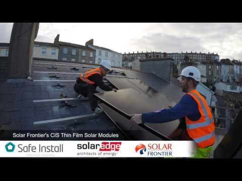 Solar Installation on Slate