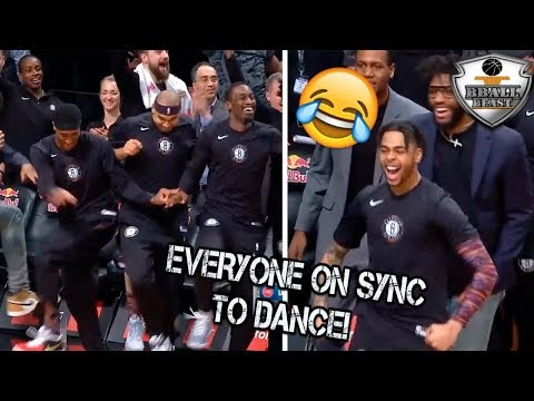 NBA FUNNIEST BENCH REACTIONS Ever