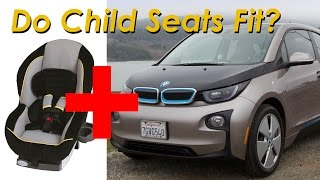 2015 BMW i3 with Range Extender Child Seat Review