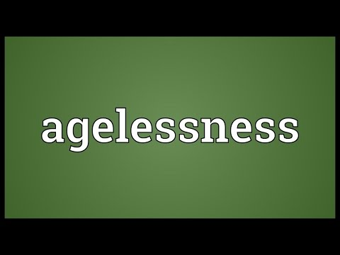 Header of agelessness