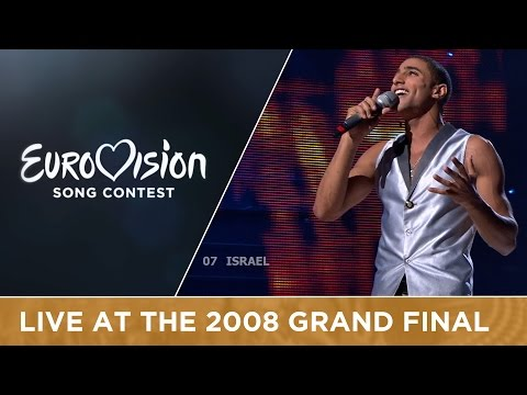 Boaz - The Fire In Your Eyes (Israel) Live 2008 Eurovision S