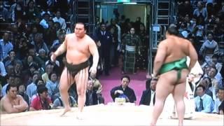 平成28年大相撲九州場所 白鵬1000勝おめでとうございます。 Sumo -Kyush...