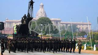 Commando Parade On Republic Day In India Slow Motion Stock Video | India | Qonvey