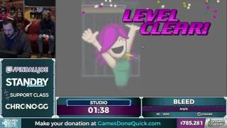 Bleed by BIGHONKINBURGER in 18:19 - Awesome Games Done Quick 2017 - Part 133