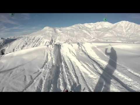 Un jour de poudreuse avec le groupe grand prix du ski club de Champagny le 31 01 2015