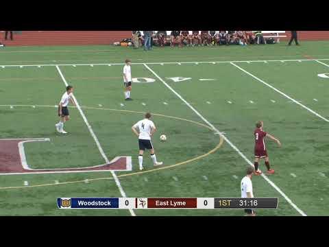 Full game: Woodstock 2, East Lyme 0 in ECC boys' soccer final