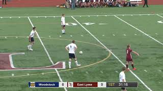 Full game: Woodstock 2, East Lyme 0 in ECC boys