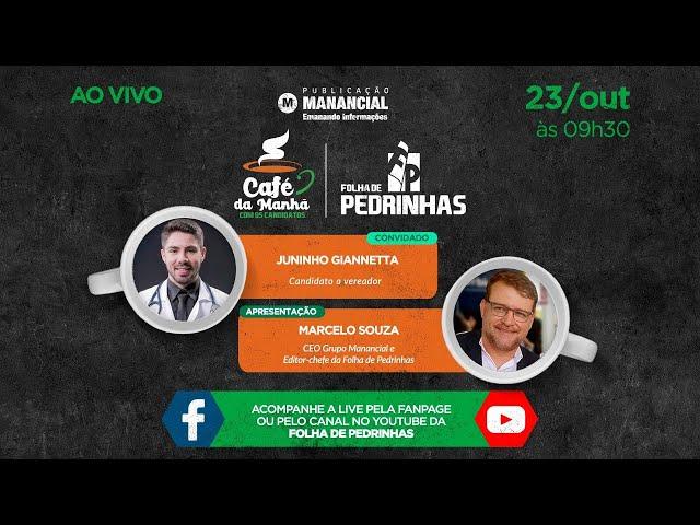 Juninho Giannetta | Eleições Municipais 2020 | Os candidatos de Pedrinhas Paulista