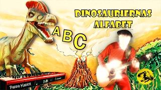 Dinosauriernas Alfabet - ABC sång & video om dinosaurier för barn | Pappa Kapsyl - alfabetet ramsor