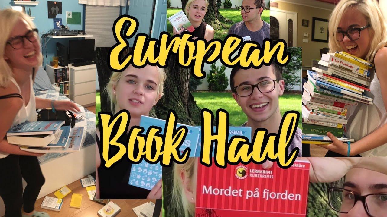 European Language Guide Haul!