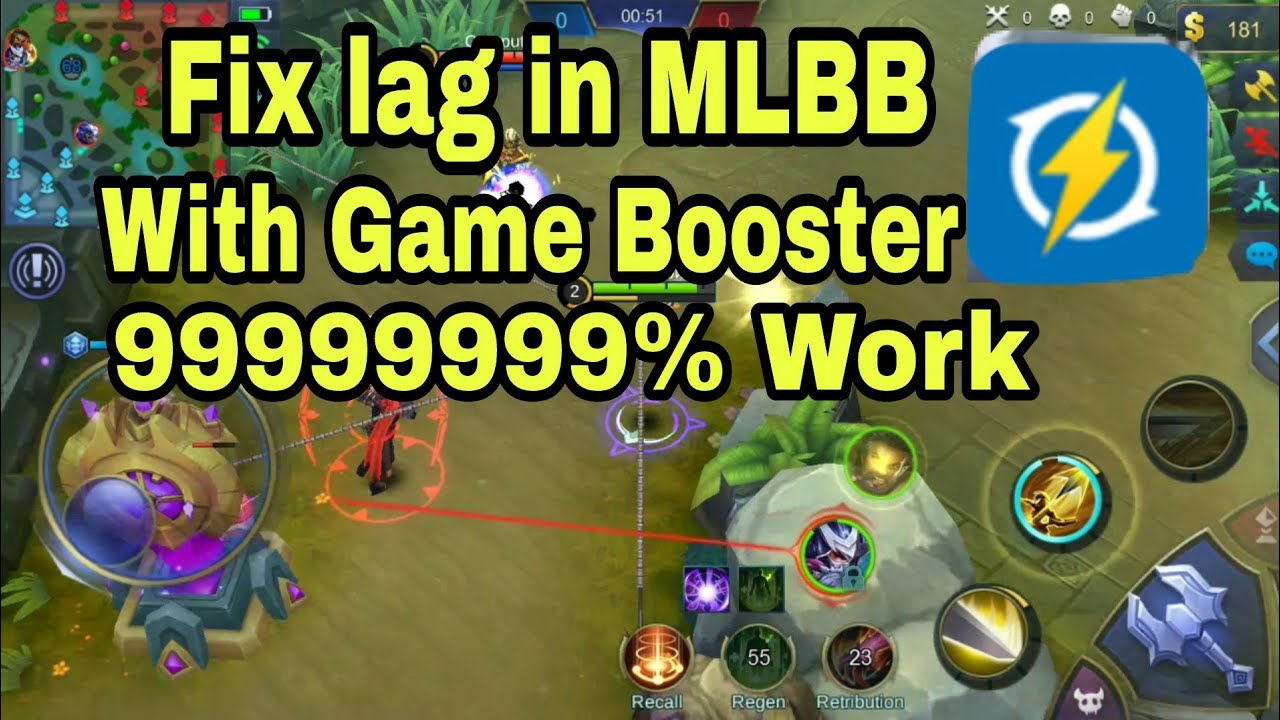 How to fix lag graphics Mobile Legends With Game Booster 99 9999% Work
