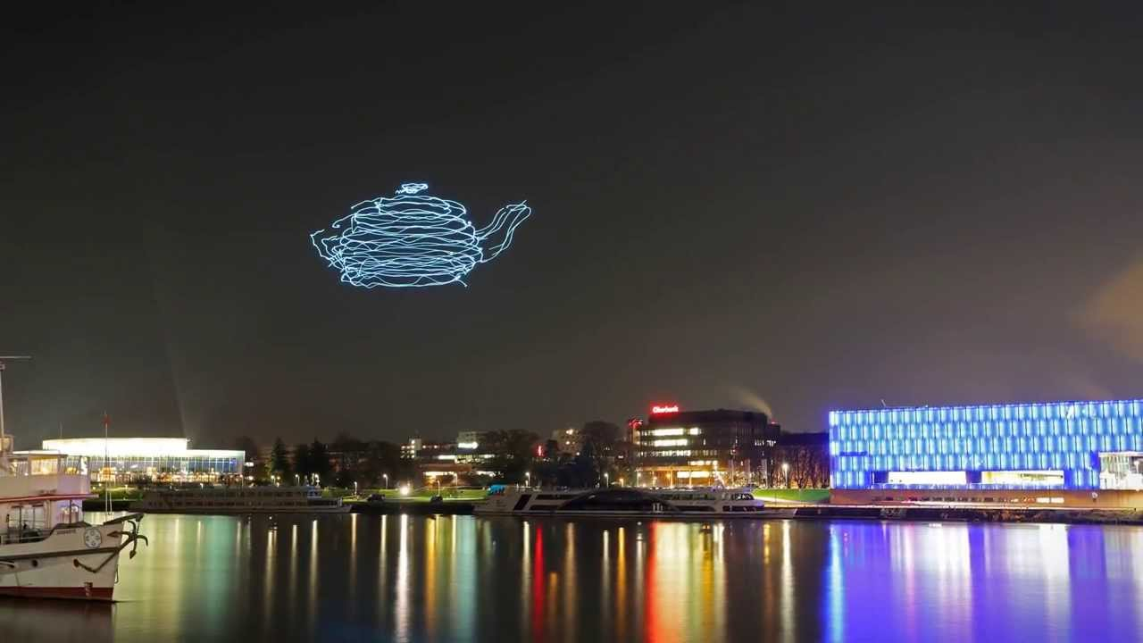 Spaxels Lightpainting Youtube
