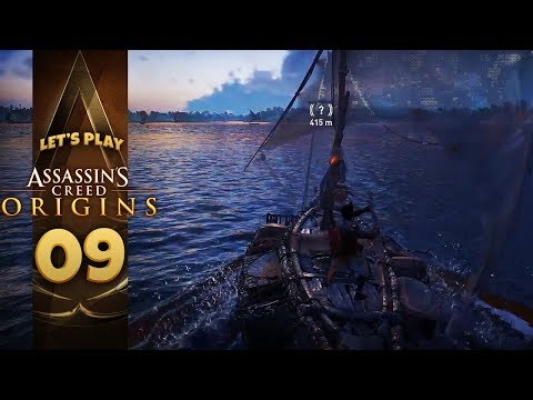 TAKE TO THE WATER | Assassin's Creed: Origins (Let's Play Part 9)
