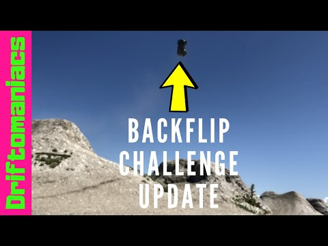 Driftomaniacs RC Backflip Challenge Update!
