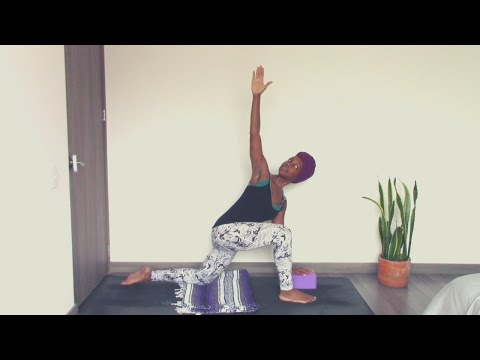 Day 3 Twisting Low Lunge | Beginner Yoga Challenge