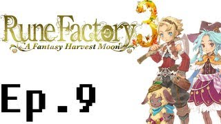 Rune Factory 3: A Fantasy Harvest Moon Playthrough Ep. 9. Fishing and Cooking, Derp