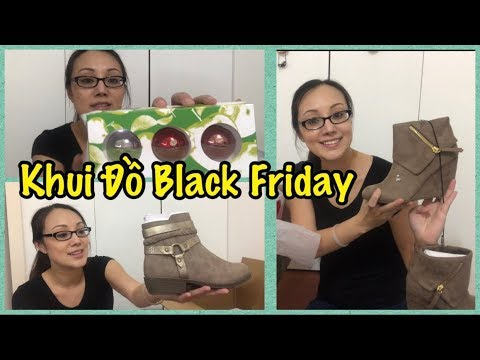 Khui Đồ Black Friday - Cuộc Sống Ở Mỹ - Co3nho 300
