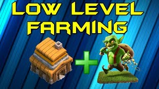 Clash of Clans: Low Level Farming Strategy