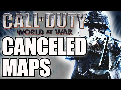 Call Of Duty World At War's Canceled Maps - WaW DELETED Multiplayer