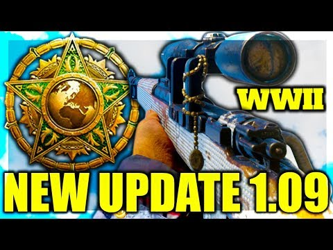 ROAD TO MASTER PRESTIGE COD WW2 - NEW UPDATE 1.09 COMING SOON! STG BUFF, KAR98 NERF AND MORE!
