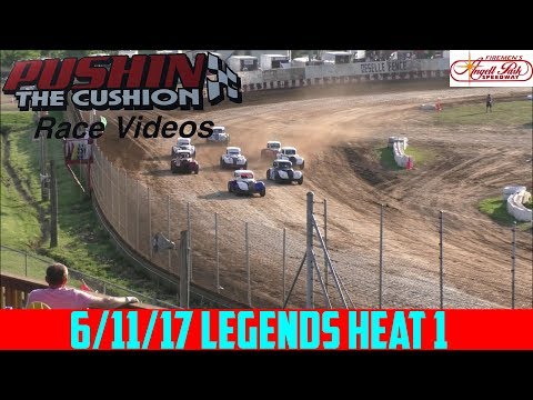 Angell Park Speedway - 6/11/17 - Legends - Heat 1