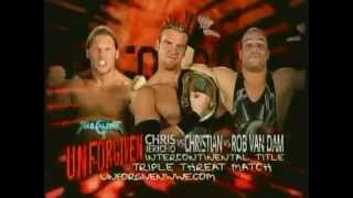 WWE Unforgiven 2003 matchcard.mp4
