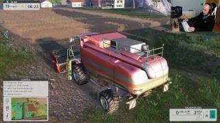 lets play FARM EXPERT 2017 day 1/setup live stream
