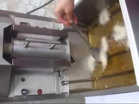 Maquina automatica para hacer churros youtube for Maquinas para toldos enrollables