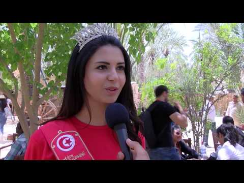 Report of the flag & the beautiful Tunisia event