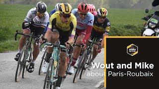 Van Aert na Parijs-Roubaix: 'Pech is het codewoord voor de ploeg' | Team Jumbo-Visma