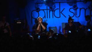 "Patrick Stump ""This City"" (live) with Breaking Even"