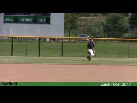 Zack Rice, Baseball Recruit, Class of 2017 | TheAthleteWatch.com