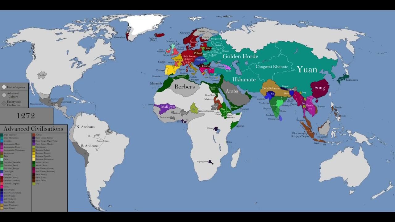 Mongol Empire - Wikipedia   Mongol Conquest Land