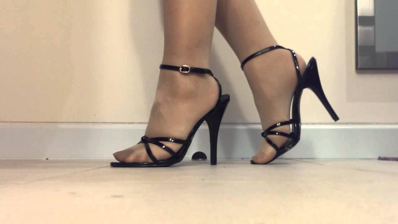 Crossdresser New Shoes Youtube