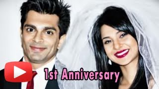 Karan singh grover and jennifer winget - first wedding anniversary special!