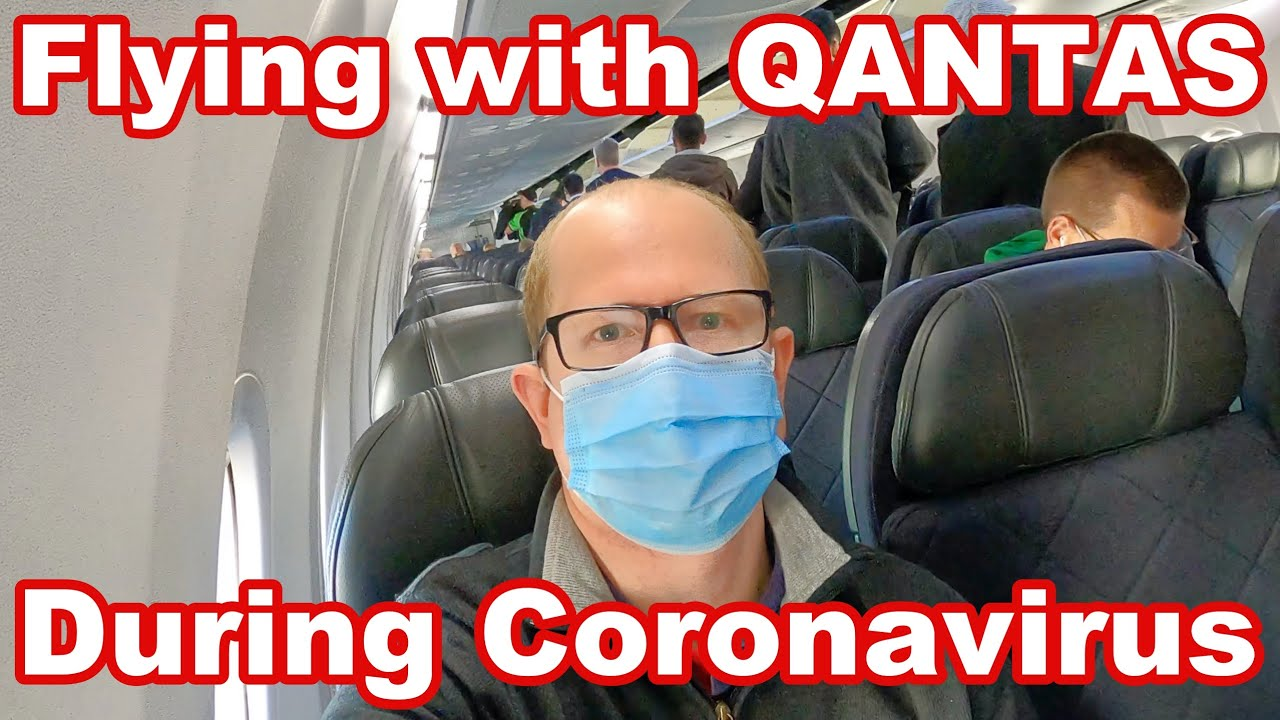 Flying with Qantas during COVID-19 pandemic - Sydney to Melbourne 4K economy trip report.